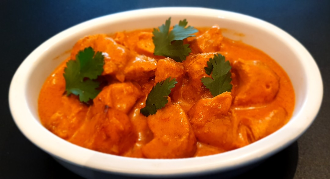 Homemade Delicious Roasted Creamy Butter Chicken